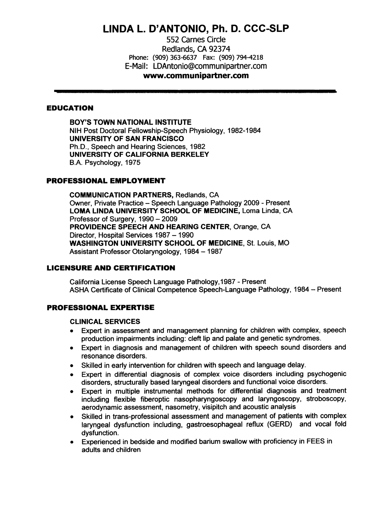 Sample Resume Language Cover Letter For Speech Language Pathologist Assistant