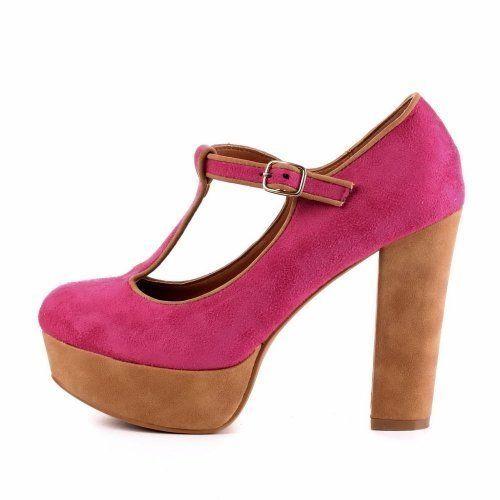 Ital-Design - Zapatos Mujer , color Rosa, talla 36