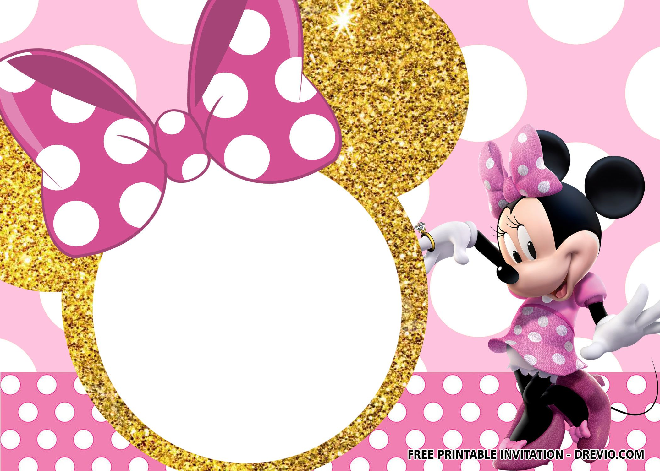 30 Free Printable Minnie Mouse Birthday Invitation Templates Minnie Mouse Birthday Invitations Minnie Mouse Invitations Minnie Mouse Birthday
