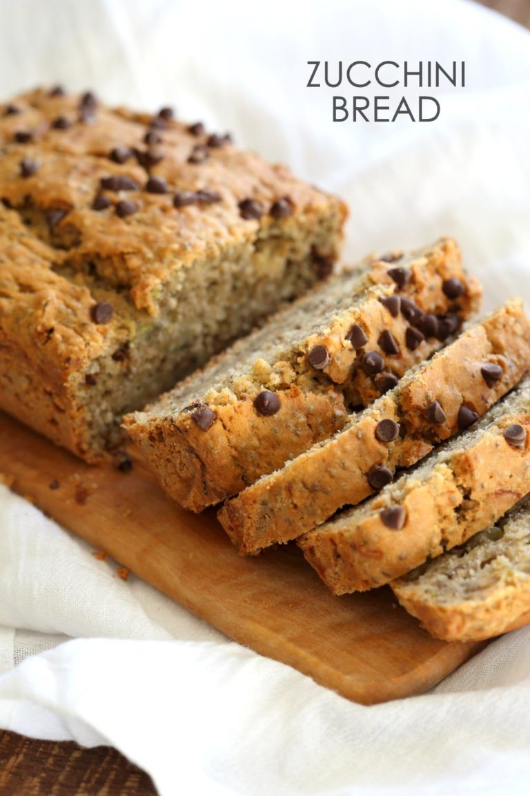 Easy Vegan Zucchini Bread With Chia Seeds Recipe Plant Based