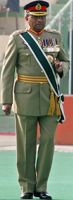 Pakistan Army General Officers Parade Dress Uniform As Worn By