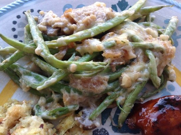 Paula Deen's Green Bean Casserole Recipe  - Food.com #greenbeancasserole