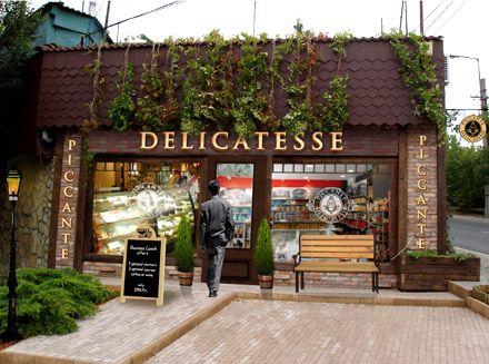 Restaurant Exterior Design | Exterior design | Piccante Delicatesse Gastronomia