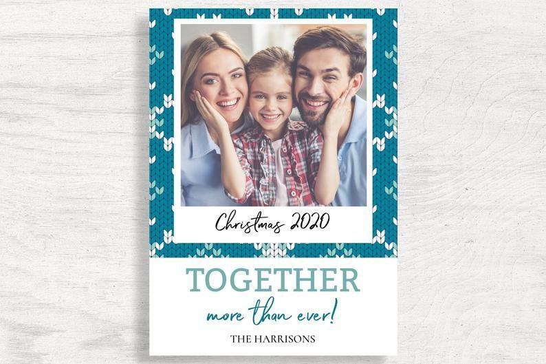 Photo Christmas Card 2020 Funny Christmas Card Template Etsy Christmas Photo Cards Christmas Card Template Funny Christmas Cards