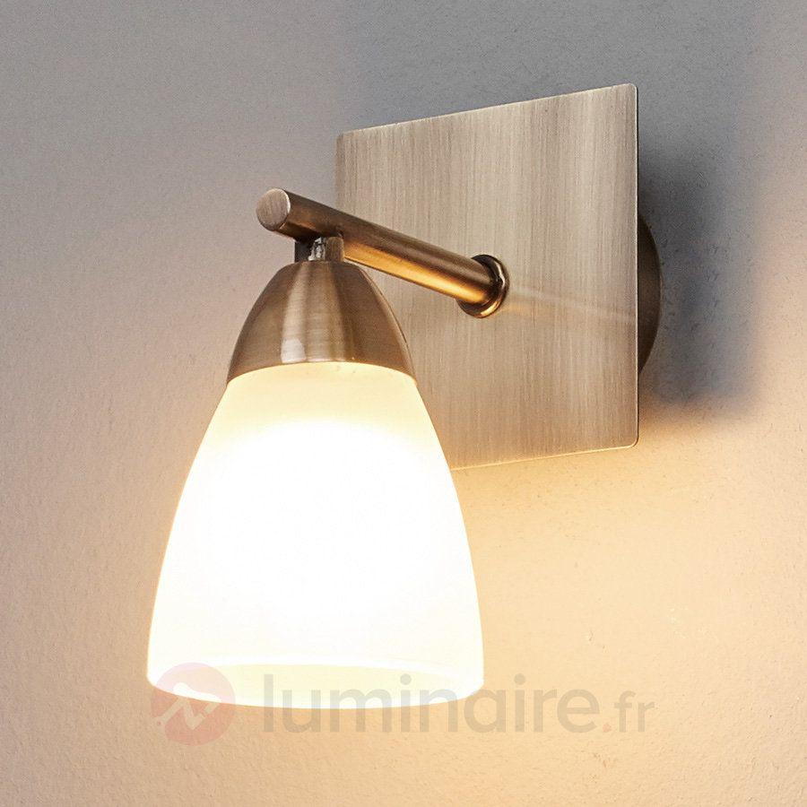 Applique pour salle de bains Nikla  une lampe