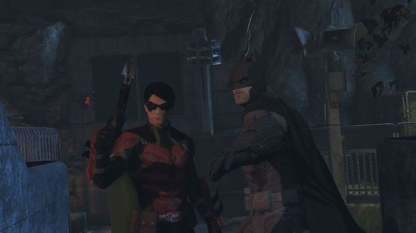 Batman and Robin Multiplayer Arkham Origins. They look awesome. Xbox 360 ps3 gaming