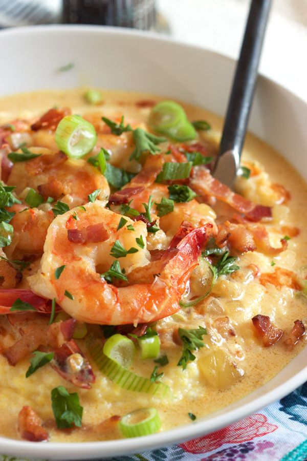Super Easy And Ready In Minutes This Easy Cheesy Shrimp And Grits Recipe Is The Ultimate Comfort Food From Recipegirl Com