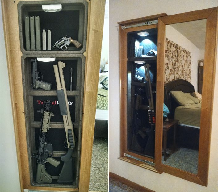 bedroom gun safe 1450m bundle at tacticalwalls concealment mirrors 10481