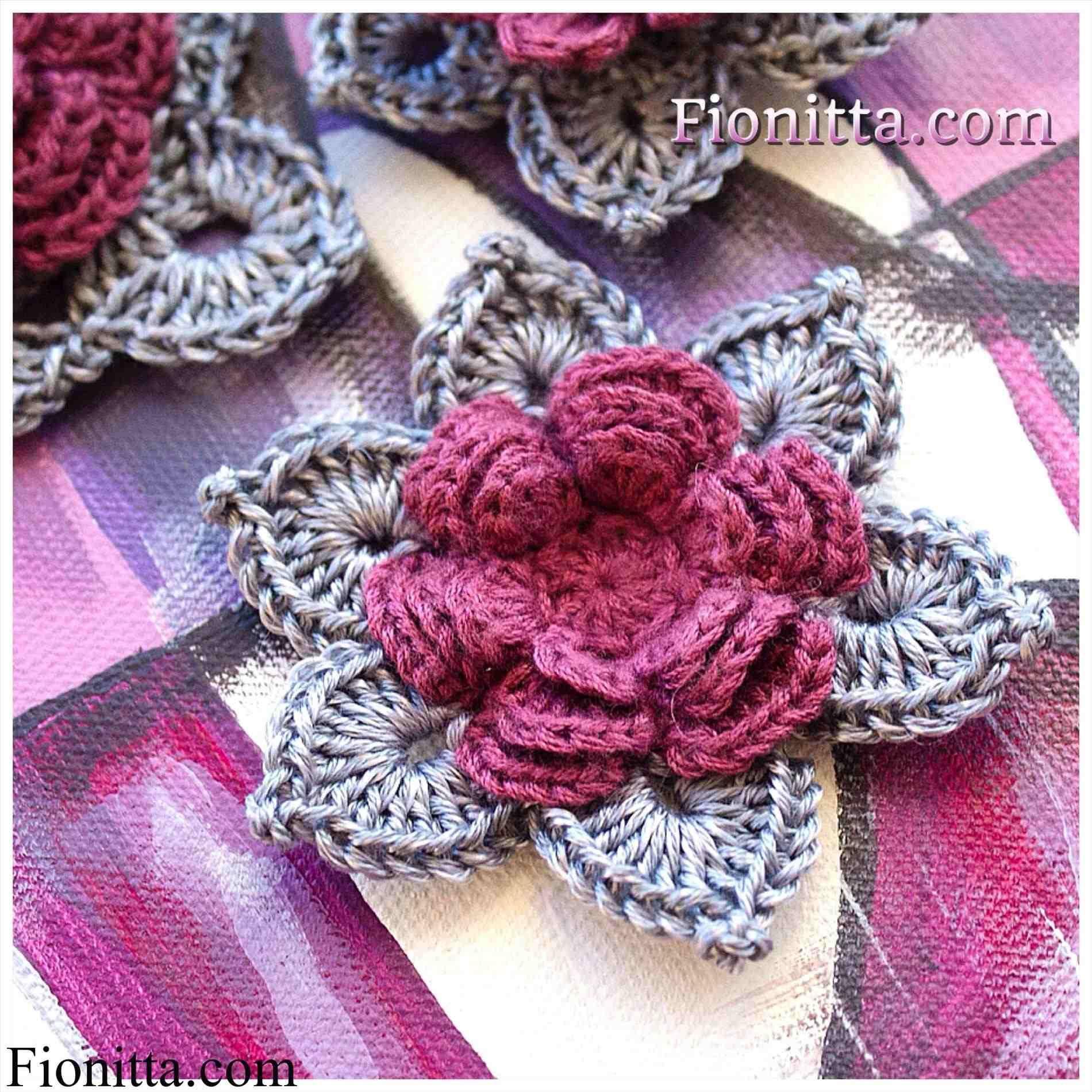 Crochet Flower Tutorial Little Birdie Secrets - flower pattern ...