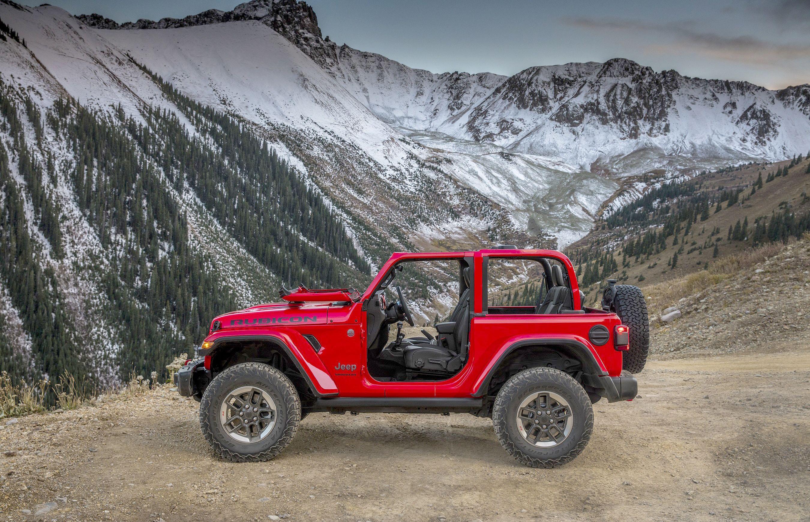 Fca Us Llc 2018 Jeep Wrangler Side Jpg 2700 1740 New Jeep Wrangler Jeep Wrangler Rubicon Wrangler Jl