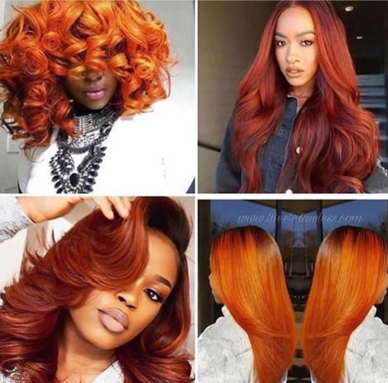 Pin By Scorpio31 On Weave Crush Hair Color Orange Hair Color For Black Hair Hair Styles
