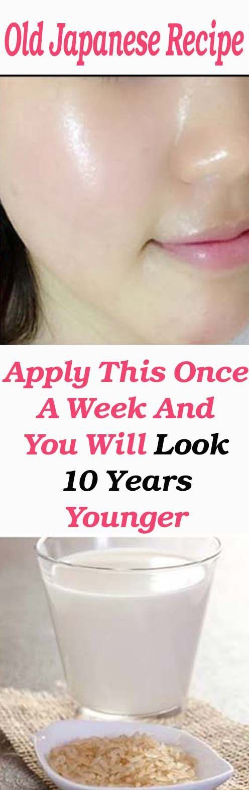 Japanese Secret To Looking Young And Radiant Even After 50 Years Japanese Anti Aging Secrets To Look Younger Skin Skin Care Remedies Anti Aging Skin Products