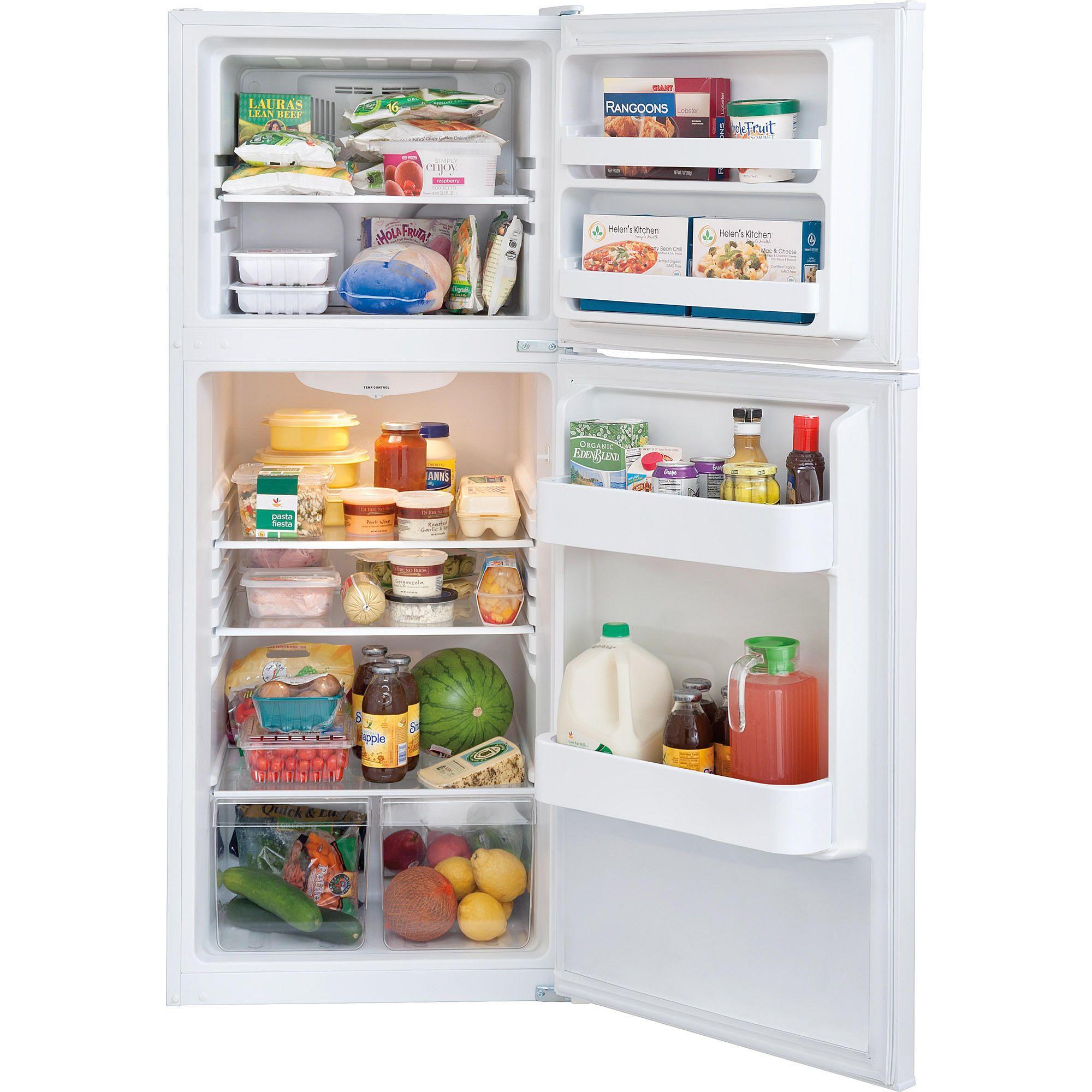 Frigidaire 10 Cu Ft Top Freezer Refrigerator Apartment Refrigerator Apartment Size Refrigerator Small Refrigerator