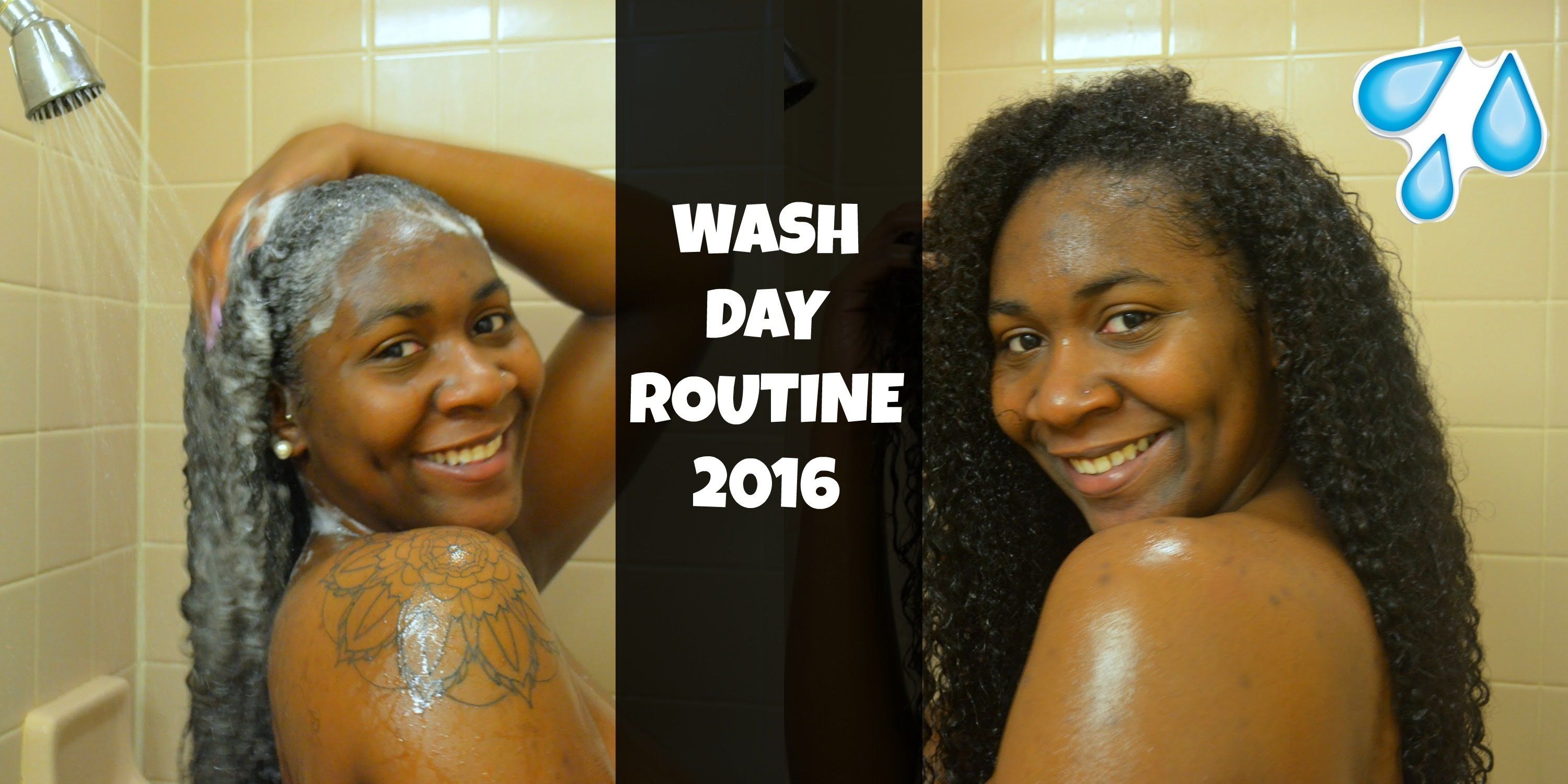 Curly Wash Day Routine 3b 3c 2016