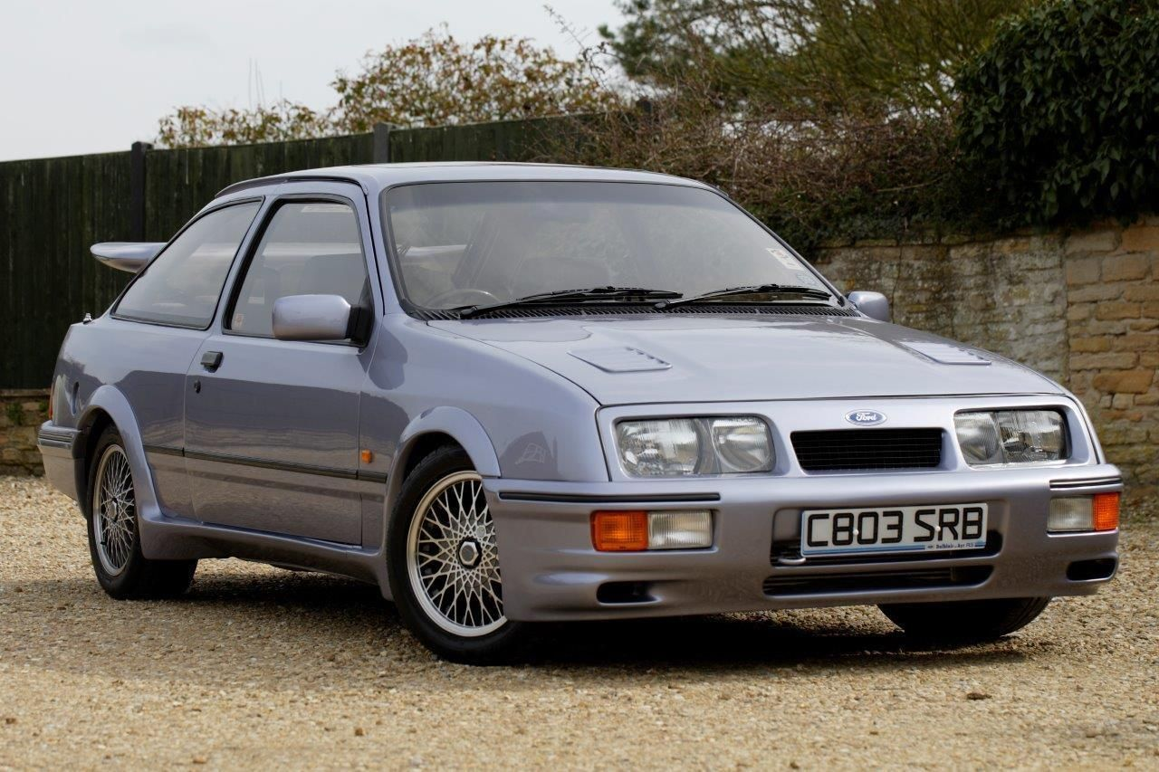 1986 Ford Rs Cosworth Sierra 3 Door Ford Press Car Very Early