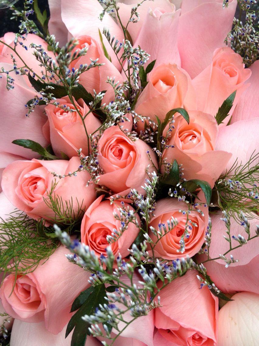Rosas Pink Bouquet Diseofloral Decoracinfloral