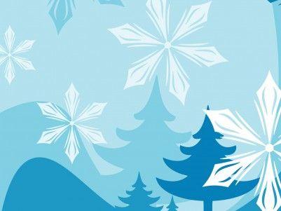 Winter Cartoon Template Background Wallpaper  Background