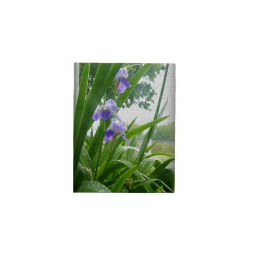 Violets in the Rain Jigsaw Puzzles