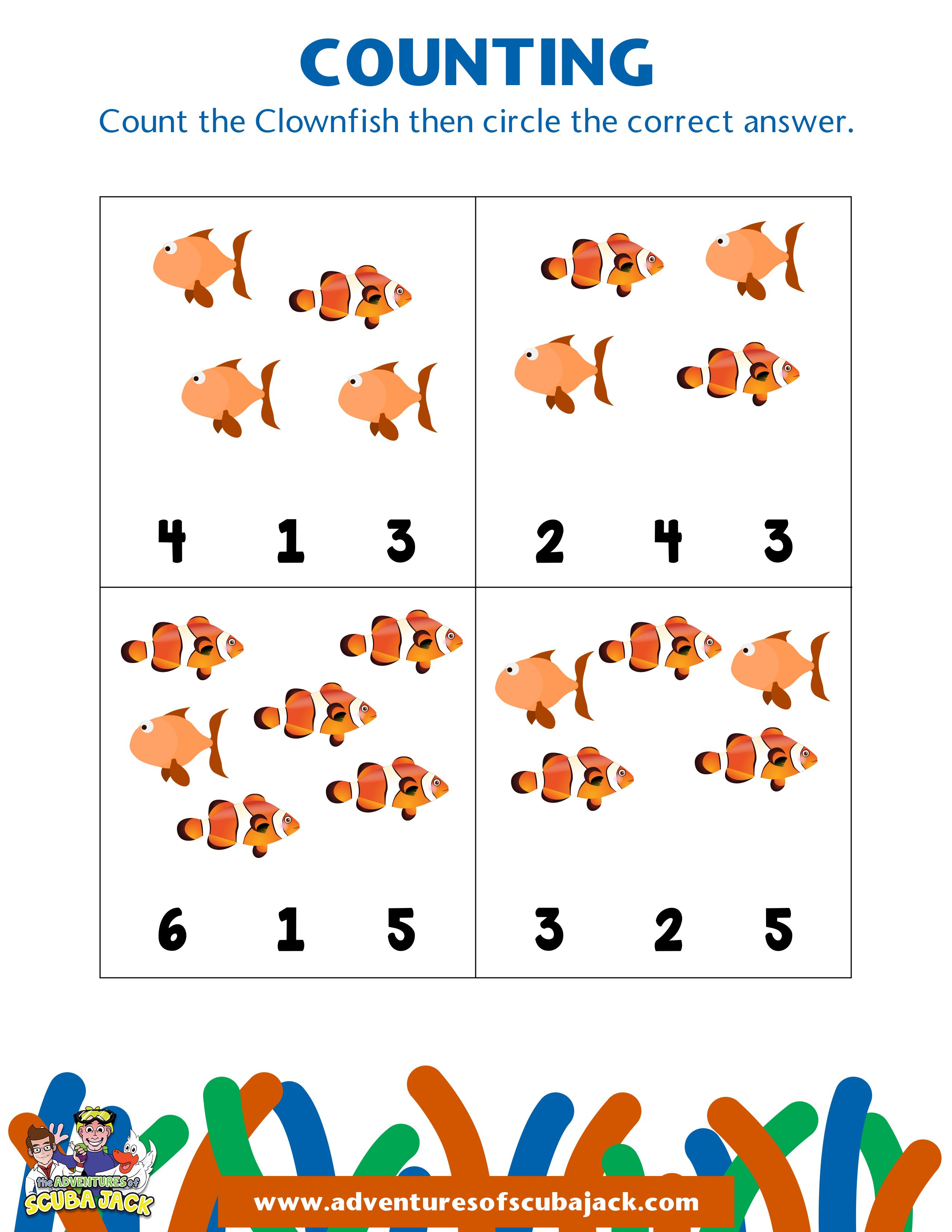 Clown Fish Activity 2 In