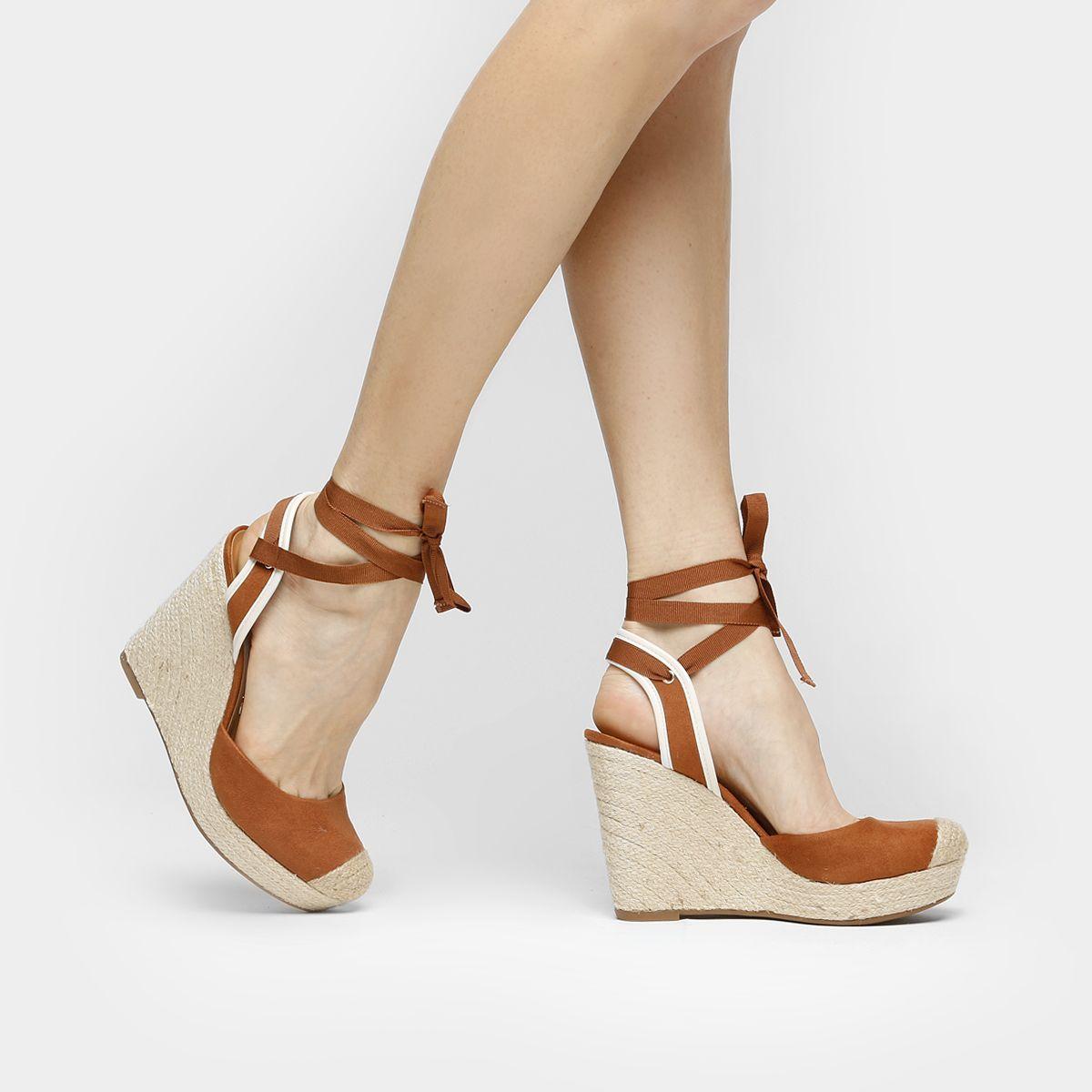 bcae75379f Compre Espadrille Vizzano Amarrações Caramelo na Zattini a nova loja de  moda online da Netshoes. Encontre Sapatos