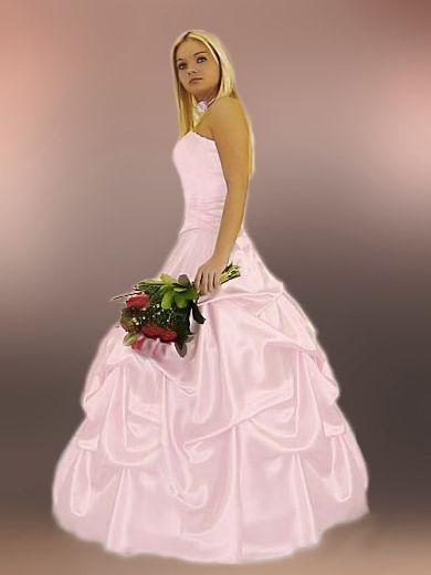 Ballkleid Rosa Brautkleid verschiedene Farben 34 bis 48 | gowns ...