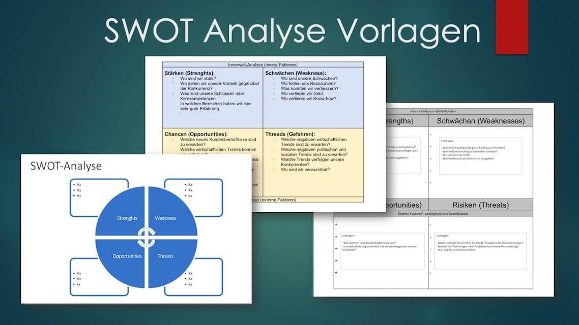 Swot Analyse Vorlage Word Excel Powerpoint Kostenlos Downloaden Swot Analyse Swot Vorlagen Word