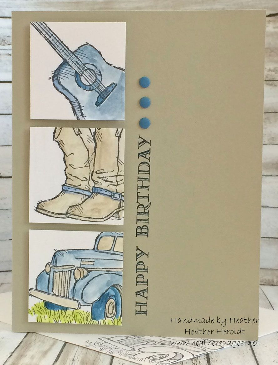 By Heather Heroldt Stamps From Country Livin By Stampin Up