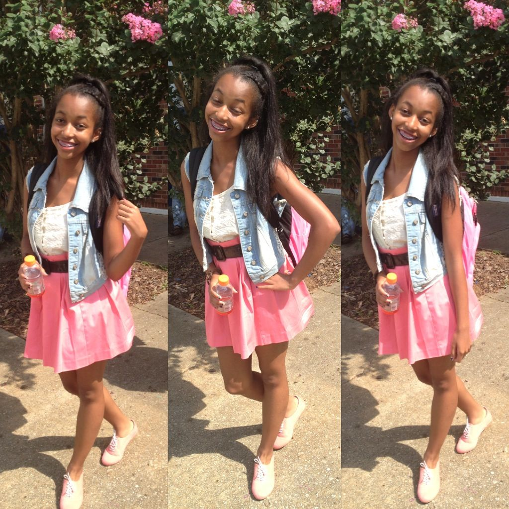 Ariana Grande inspired Shirt-Belk Vest- Marshallu0026#39;s Skirt-Belk IG @TheyFall4Autumn   Autumnu0026#39;s ...