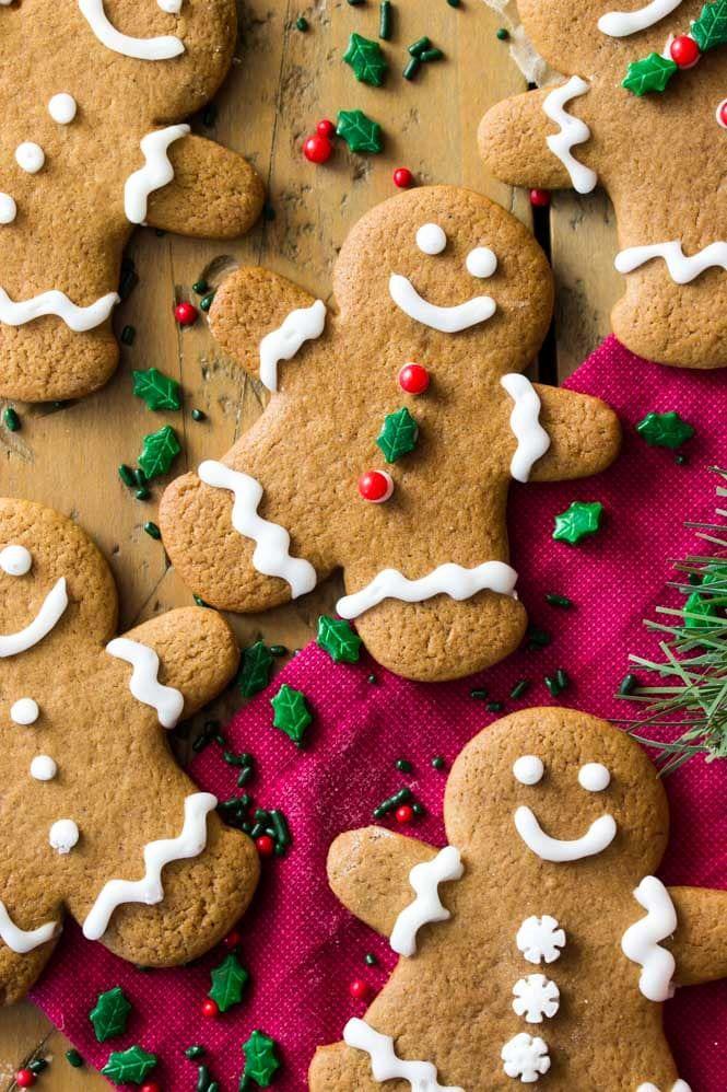 Ginger Bread Cookie Recipe in 2020 Gingerbread cookies