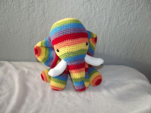 Patron Gratuit Amigurumi éléphant Au Crochet Patrones