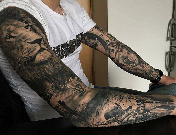 Tattoo männer kosten unterarm Unterarm