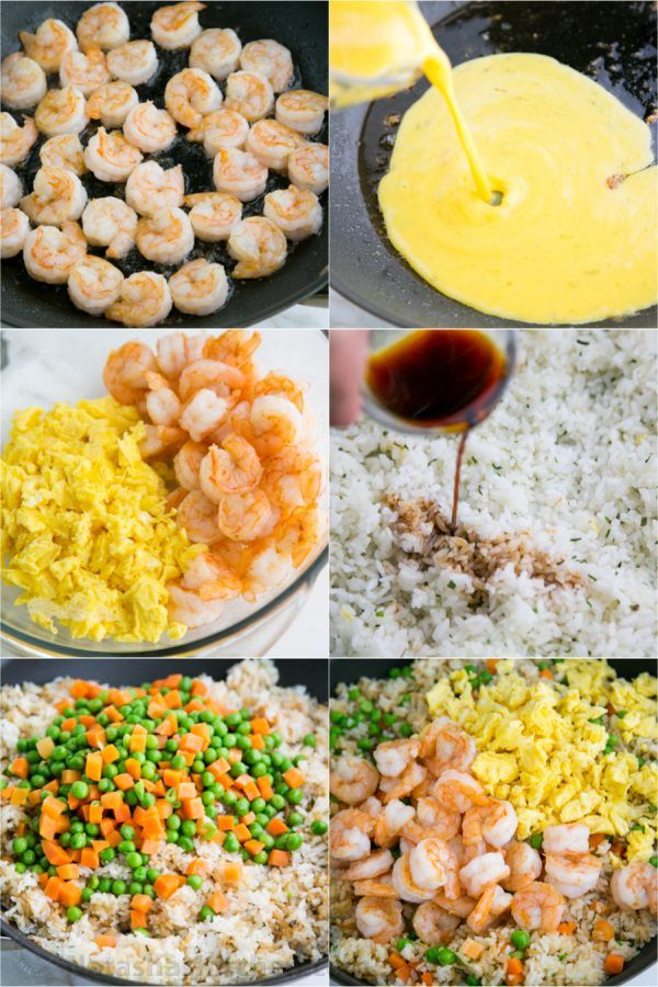 Shrimp Fried Rice Recipe (VIDEO) - NatashasKitchen.com