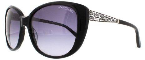c2b4f9017ce Guess By Marciano Women s GM722 GM 722 BLK-35 Black Fashion Sunglasses 58mm