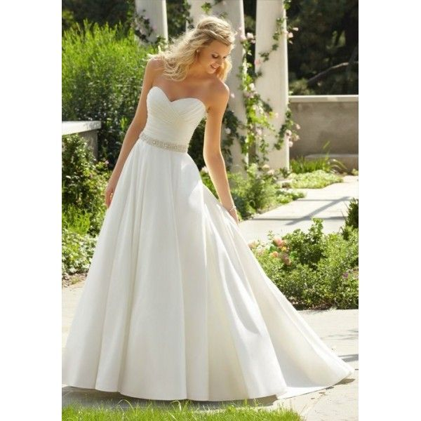 timeless taffeta strapless sweetheart a line wedding dress