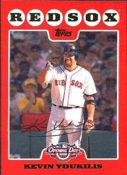 Kevin Youkilis 2008 Topps Opening Day Baseball Card 47