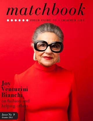 Matchbook Magazine, Joy Venturini Bianchi #red
