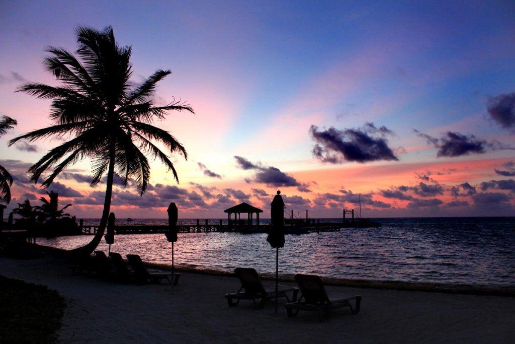 Sunrise at our beach