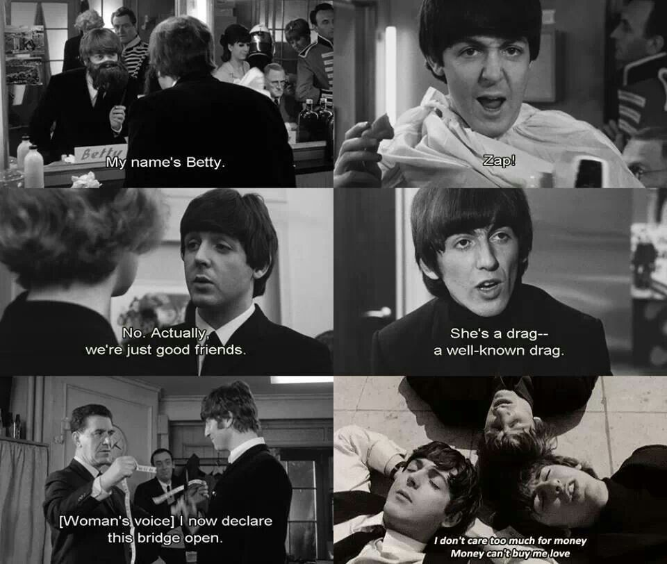A Hard Days Night Beatles Funny The Beatles Beatles Movie