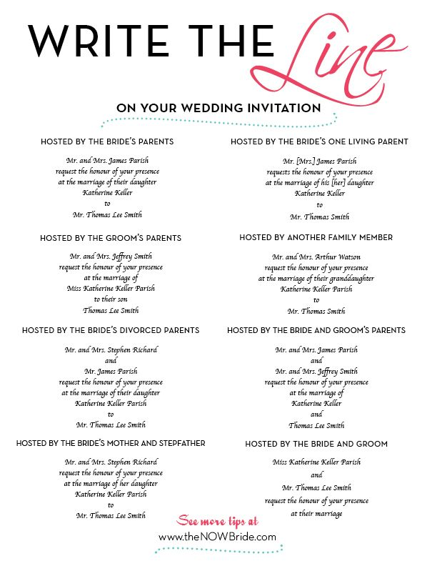 How To Address Your Wedding Invitation