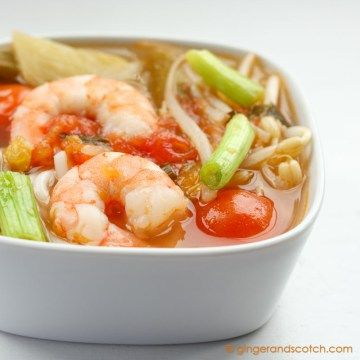 Recipe for Vietnamese Sweet and Sour Soup