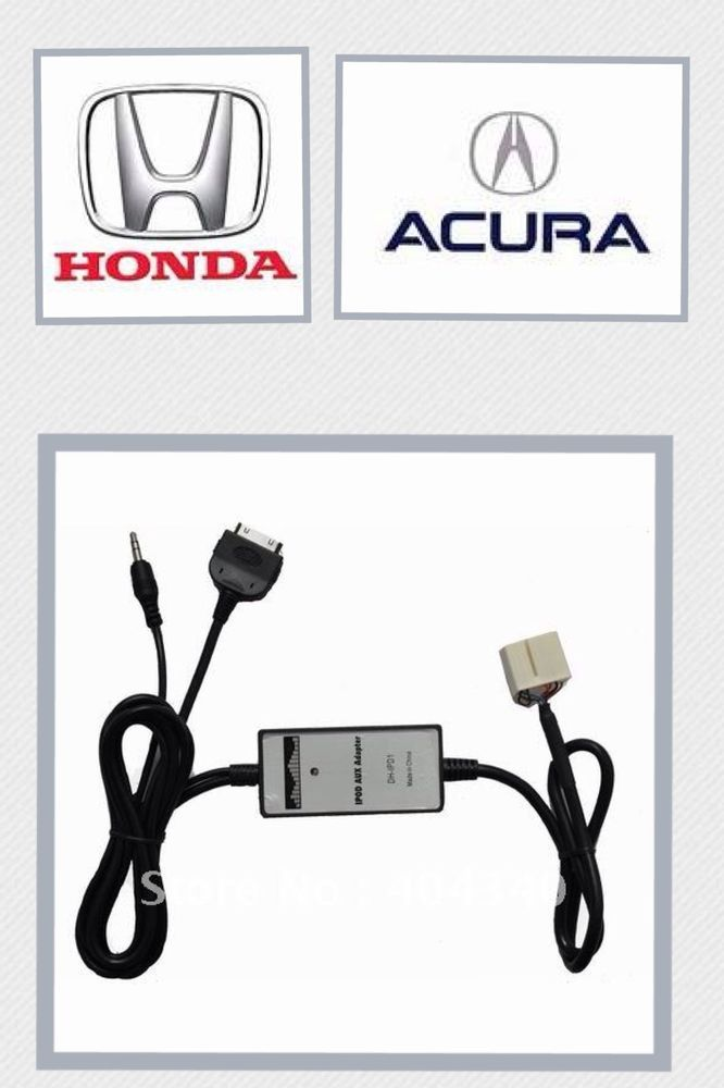 Honda Ipod Iphone Aux Select 2003 2011 Accord Civic Crv Fit Pilot