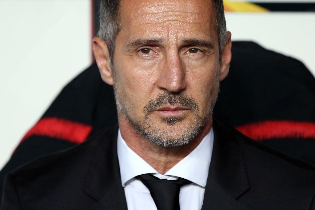 Eintracht Frankfurt S Head Coach Adi Hutter During The Uefa Europa