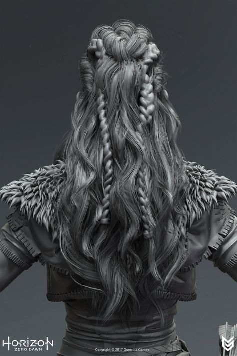 Horizon Zero Dawn - Hair, Johan Lithvall