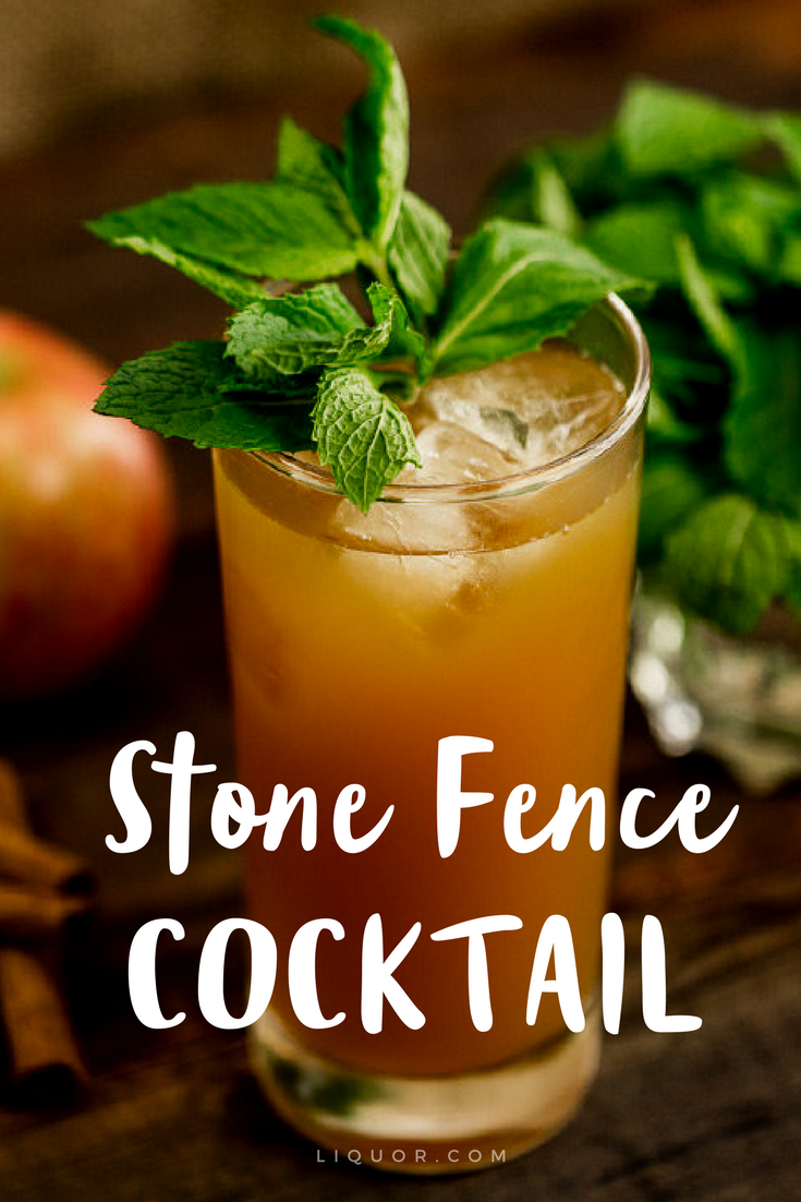 This #cider #cocktail is perfect when you're craving something fall-like