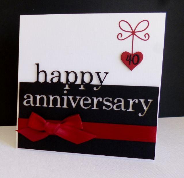 Homemade Anniversary Ideas For Husband: Ruby Anniversary By Sistersandie