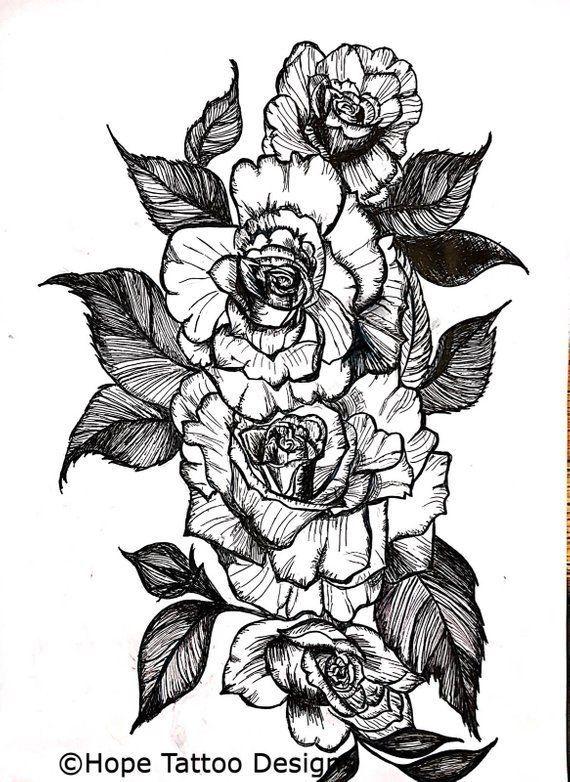 Rose henna design | Henna-Designs | Pinterest |Realistic Rose Tattoos Henna Designs