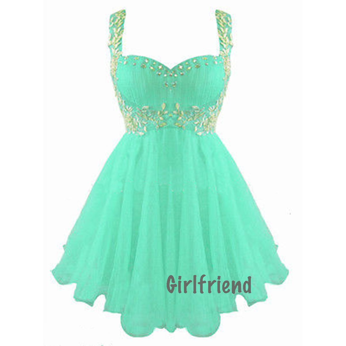 Cute Short Prom Dresses 2014 | prom-dress-cute-green-sleeveless ...