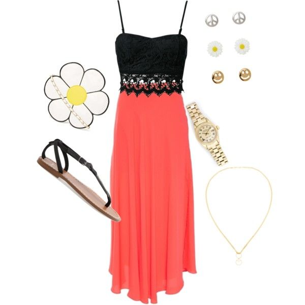 """""""Casual Summer day out"""" by ramirez-stephanie on Polyvore"""