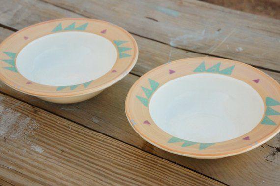 Plates And Bowls Set Boho