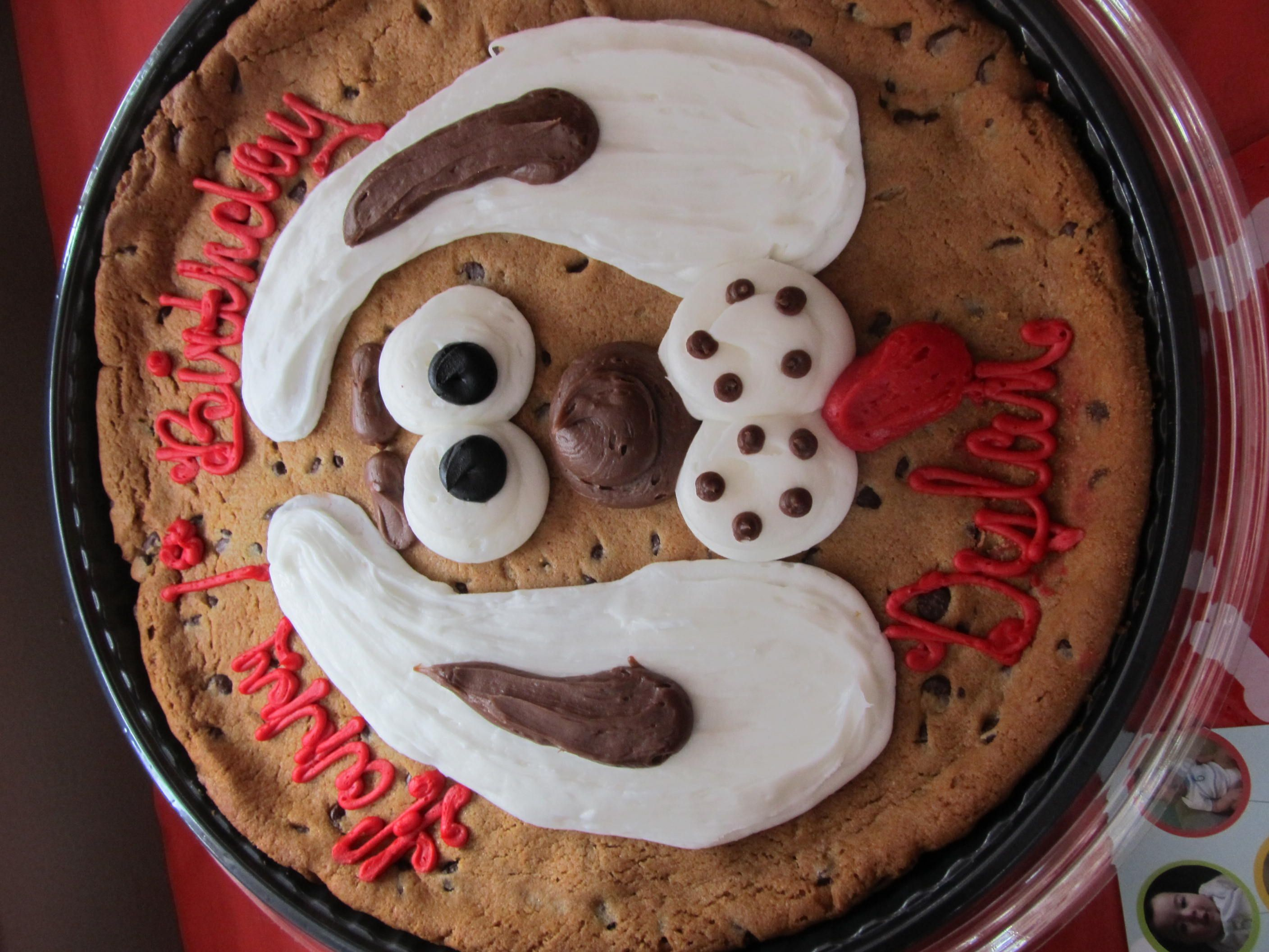 Puppy cookie cake by Acme Markets in Woodbury NJ 999 Dog